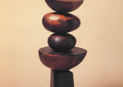 Obos #1 Wood sculpture 1956 Teak