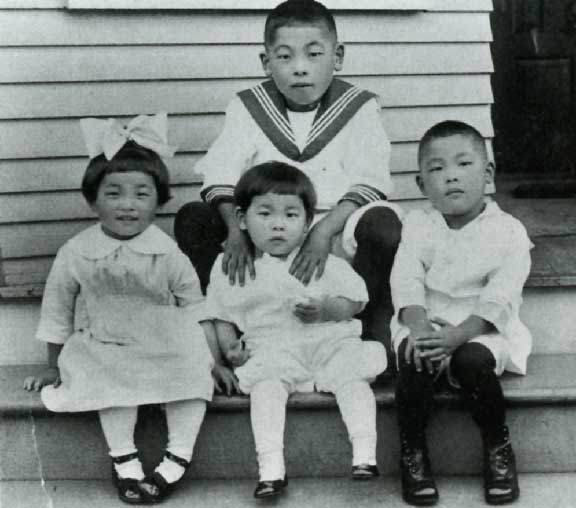George Tsutakawa as a boy in 1917