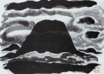 Mount Rainier Sumi 1975