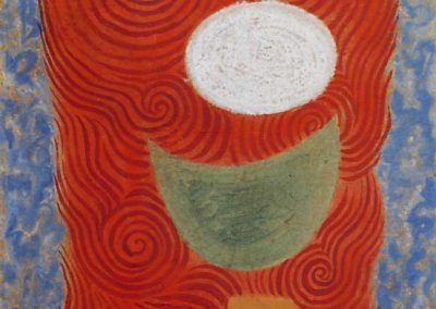 Obos No. 10 tempera 1957