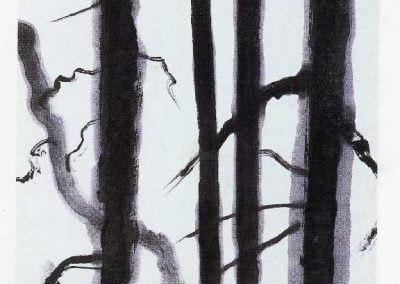 Winter Forest Sumi 1987