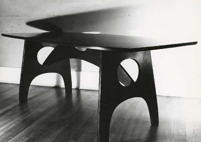 Black table 1950s