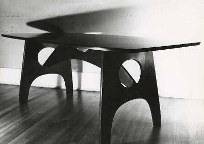 Black table 1950s